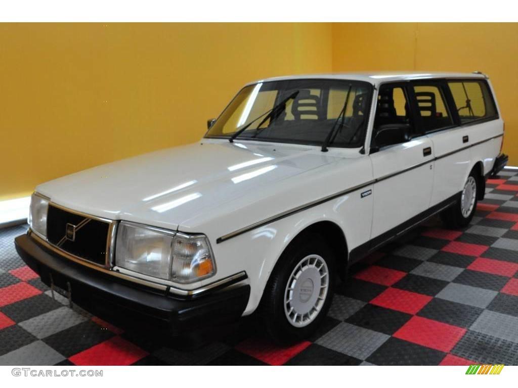 1989 white volvo 240 dl wagon 19081783 photo 3 car color galleries. Black Bedroom Furniture Sets. Home Design Ideas