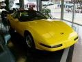 1995 Competition Yellow Chevrolet Corvette Coupe  photo #1