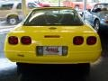 1995 Competition Yellow Chevrolet Corvette Coupe  photo #3