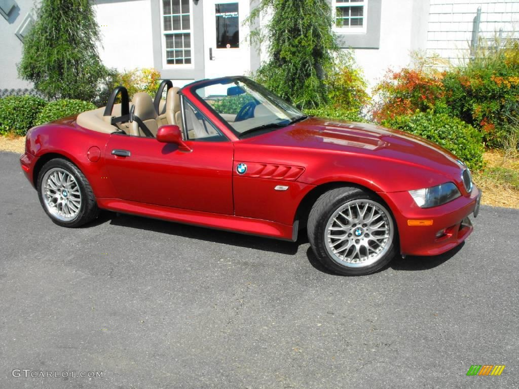 2000 Siena Red Metallic Bmw Z3 2 8 Roadster 19068446