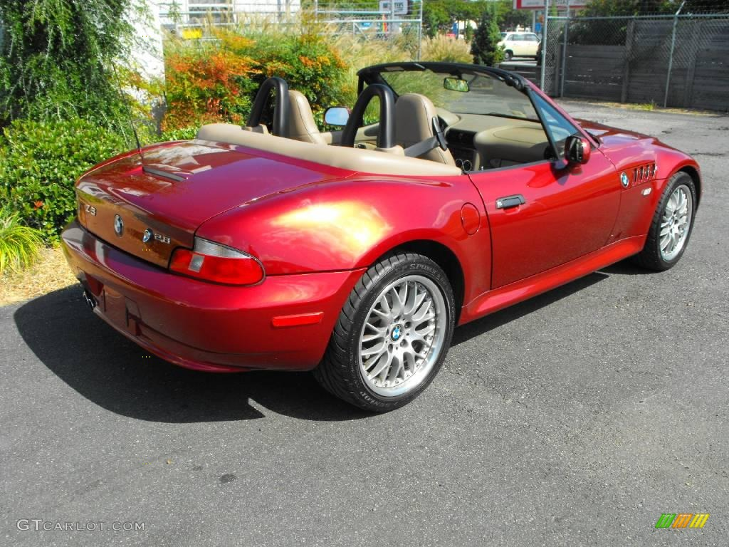 siena red metallic 2000 bmw z3 2 8 roadster exterior photo. Black Bedroom Furniture Sets. Home Design Ideas