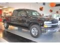 2002 Onyx Black Chevrolet Silverado 1500 LS Extended Cab  photo #9
