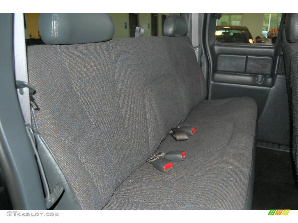 2002 Silverado 1500 LS Extended Cab - Onyx Black / Graphite Gray photo #17