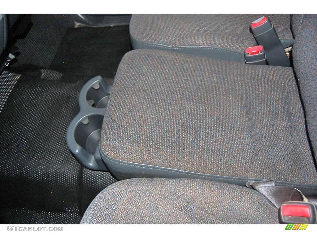 2002 Silverado 1500 LS Extended Cab - Onyx Black / Graphite Gray photo #30