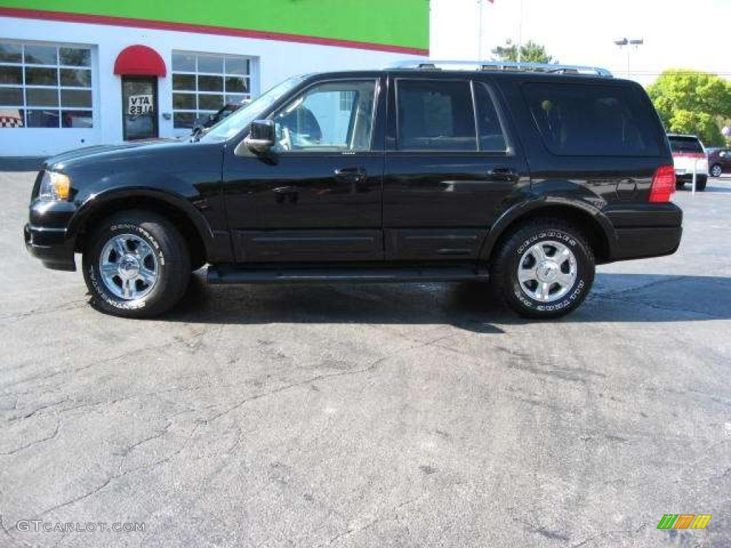 2005 Ford Expedition Limited In Houston Tx: 2005 Black Clearcoat Ford Expedition Limited 4x4 #19083355