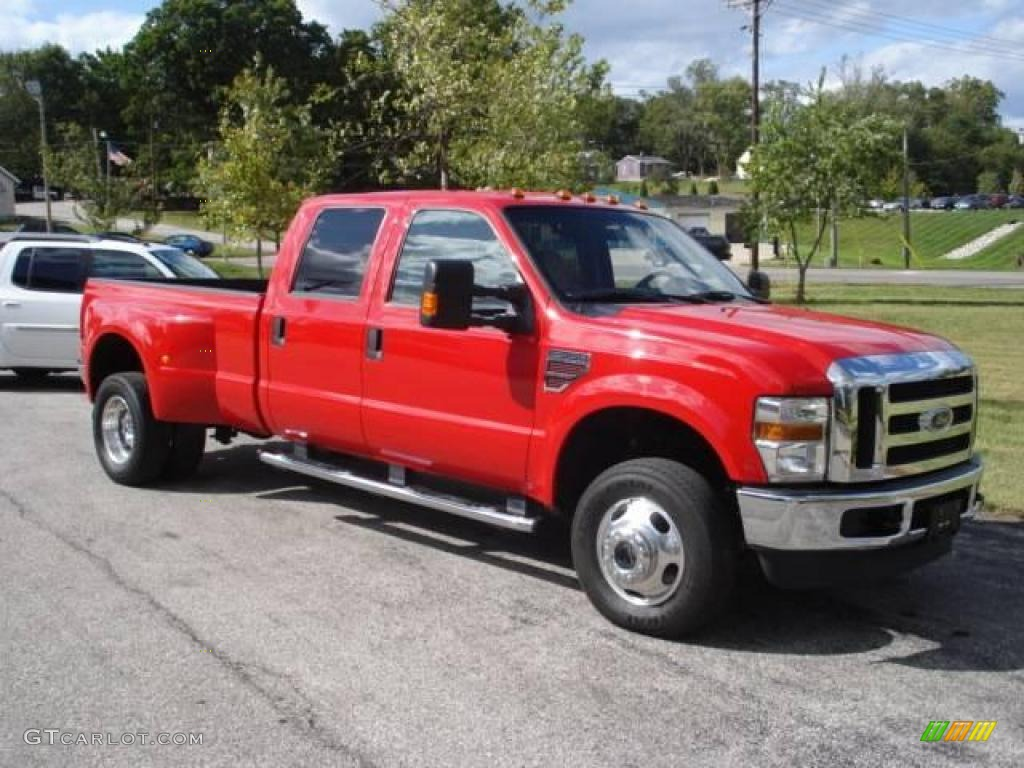 2008 Ford F350 Colors