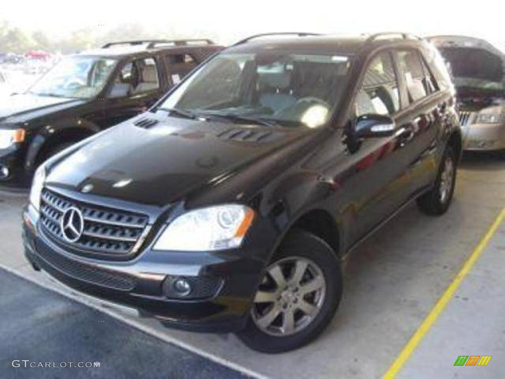 2006 black mercedes benz ml 350 4matic 19084400 for Mercedes benz ml 350 2006
