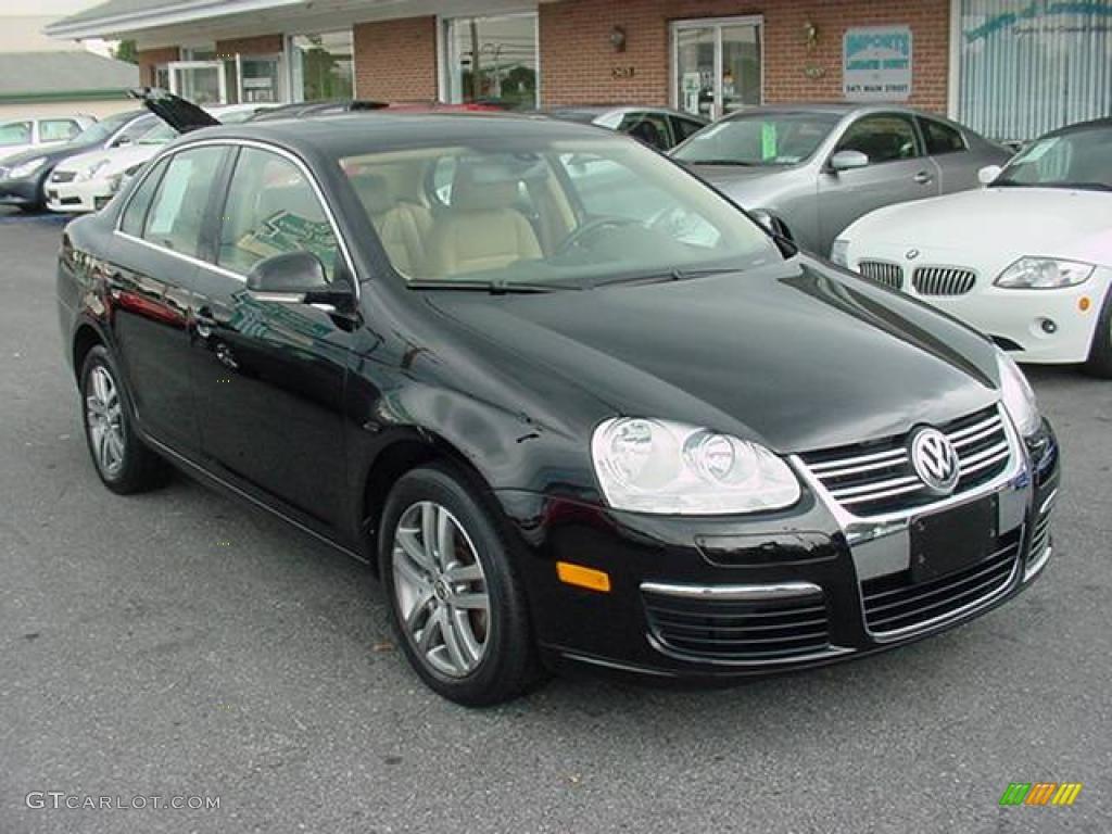 Black Volkswagen Jetta