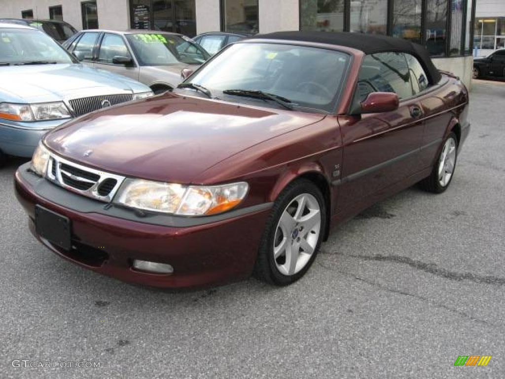 2003 merlot red metallic saab 9 3 se convertible 1872564 car color galleries. Black Bedroom Furniture Sets. Home Design Ideas