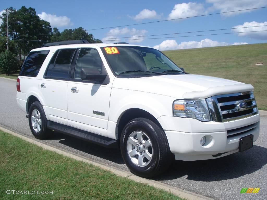 2008 Oxford White Ford Expedition Xlt 19155412 Gtcarlot