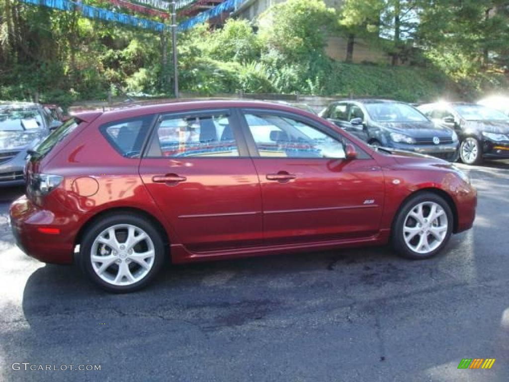 2008 copper red mica mazda mazda3 s sport hatchback. Black Bedroom Furniture Sets. Home Design Ideas