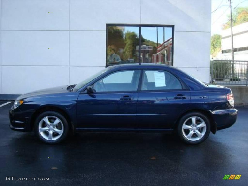 2006 impreza 2 5i sedan regal blue pearl anthracite black photo 1