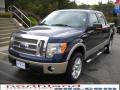 Dark Blue Pearl Metallic - F150 Lariat SuperCrew 4x4 Photo No. 2