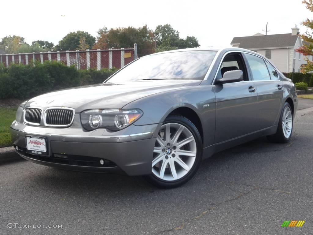2004 titanium grey metallic bmw 7 series 745li sedan. Black Bedroom Furniture Sets. Home Design Ideas
