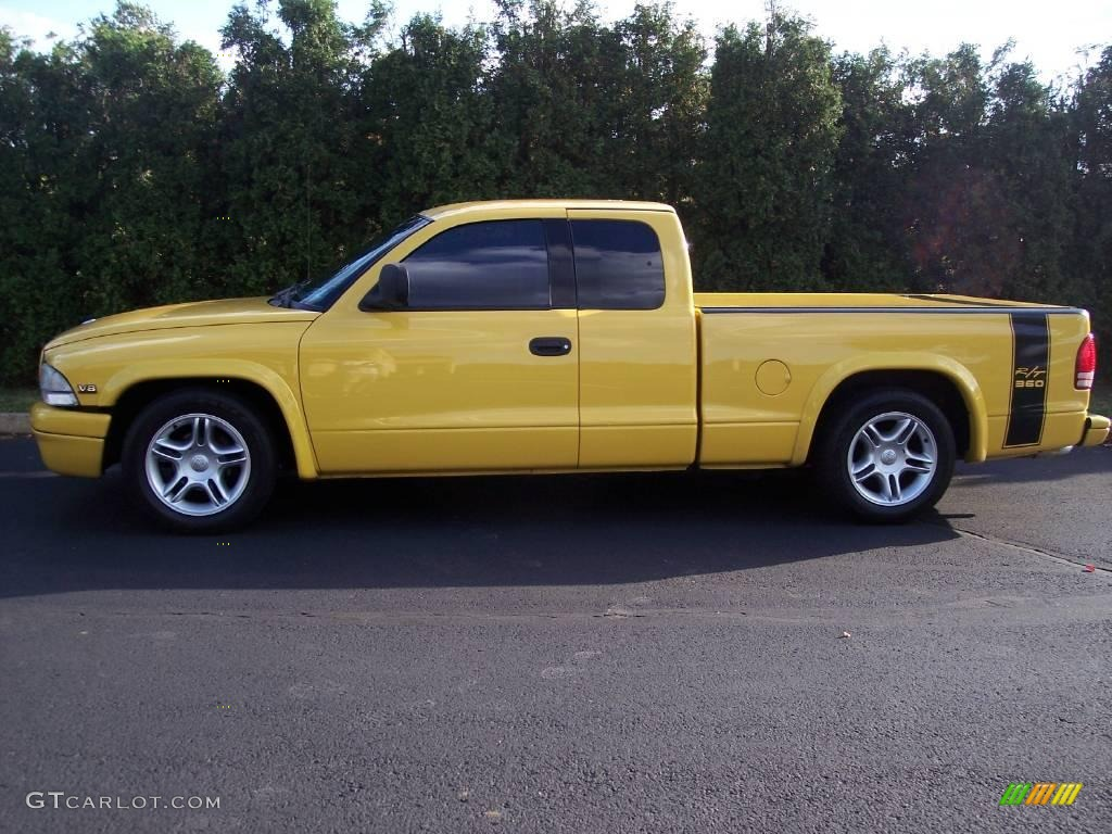 1999 solar yellow dodge dakota r t sport extended cab. Black Bedroom Furniture Sets. Home Design Ideas