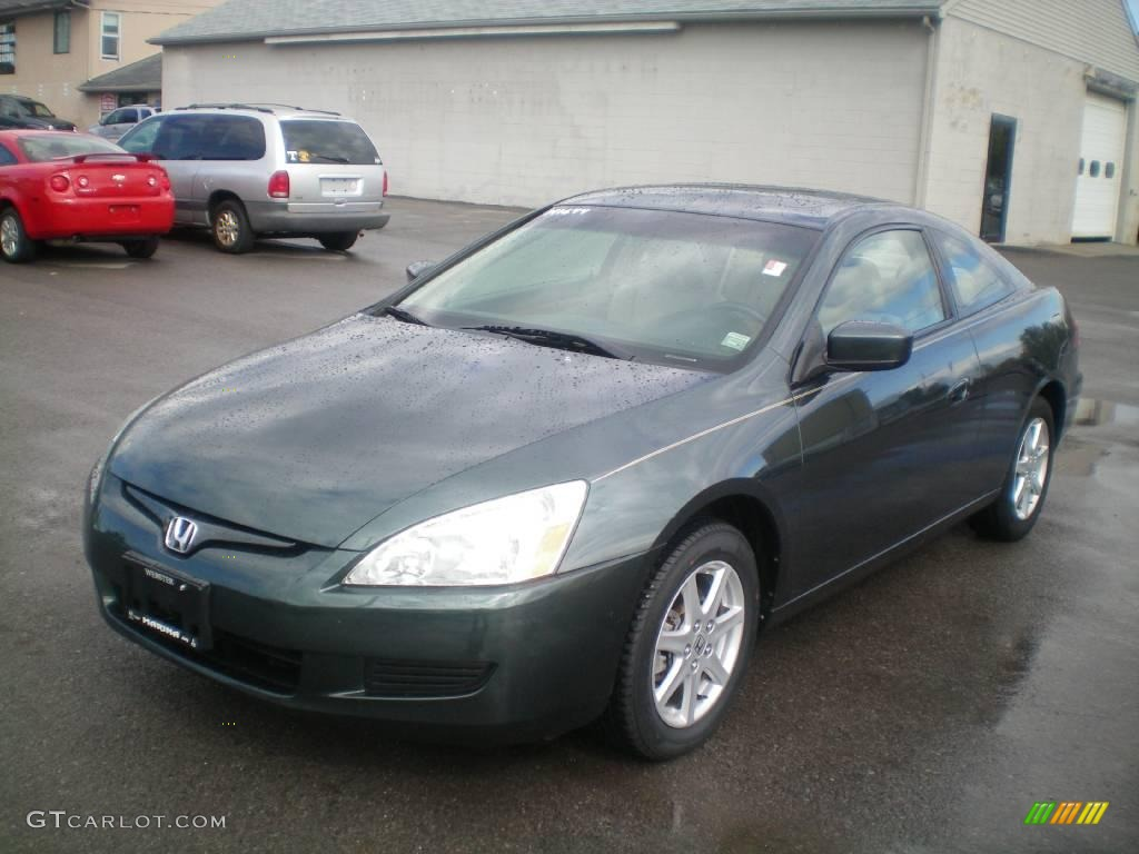 2004 deep green pearl honda accord ex v6 coupe 19209935. Black Bedroom Furniture Sets. Home Design Ideas