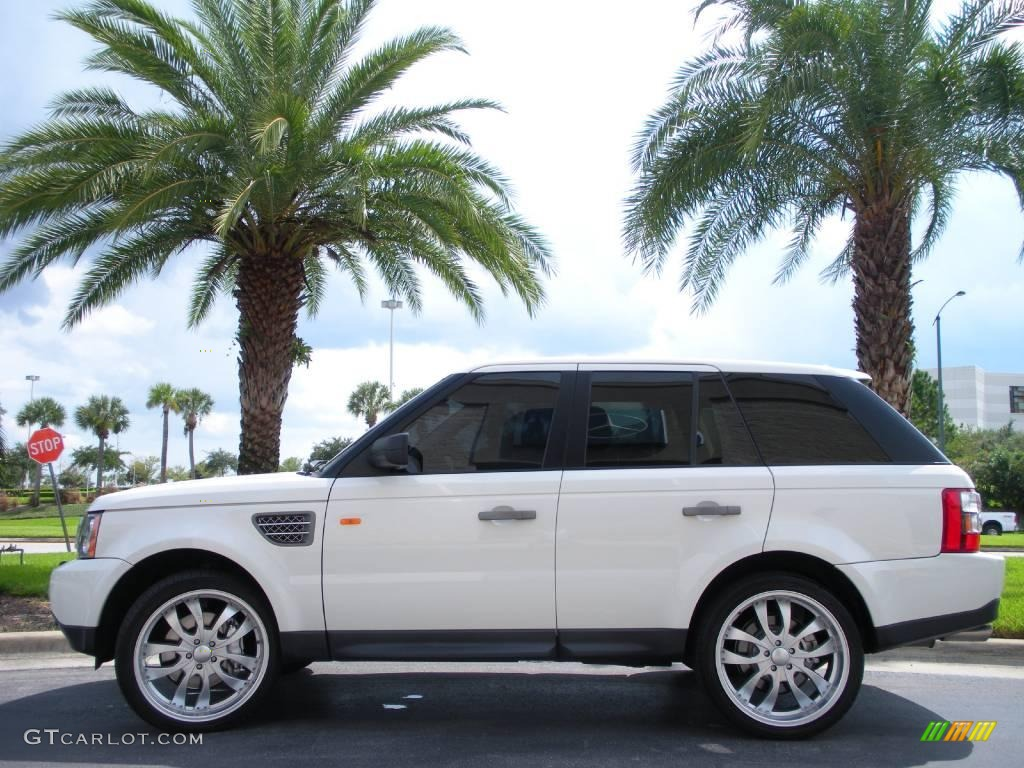 2006 chawton white land rover range rover sport supercharged 19208169 car. Black Bedroom Furniture Sets. Home Design Ideas