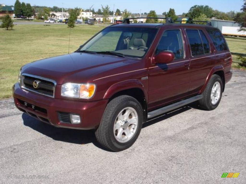 2004 merlot red pearl nissan pathfinder le platinum 4x4. Black Bedroom Furniture Sets. Home Design Ideas