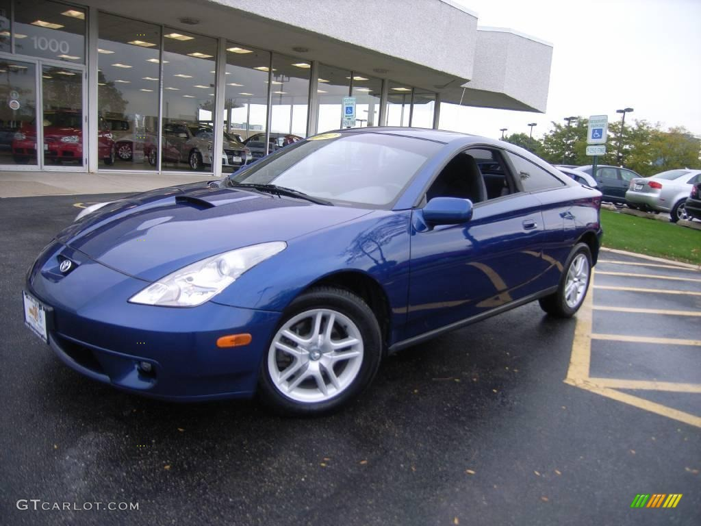 2002 spectra blue mica toyota celica gt 19276432 car color galleries. Black Bedroom Furniture Sets. Home Design Ideas