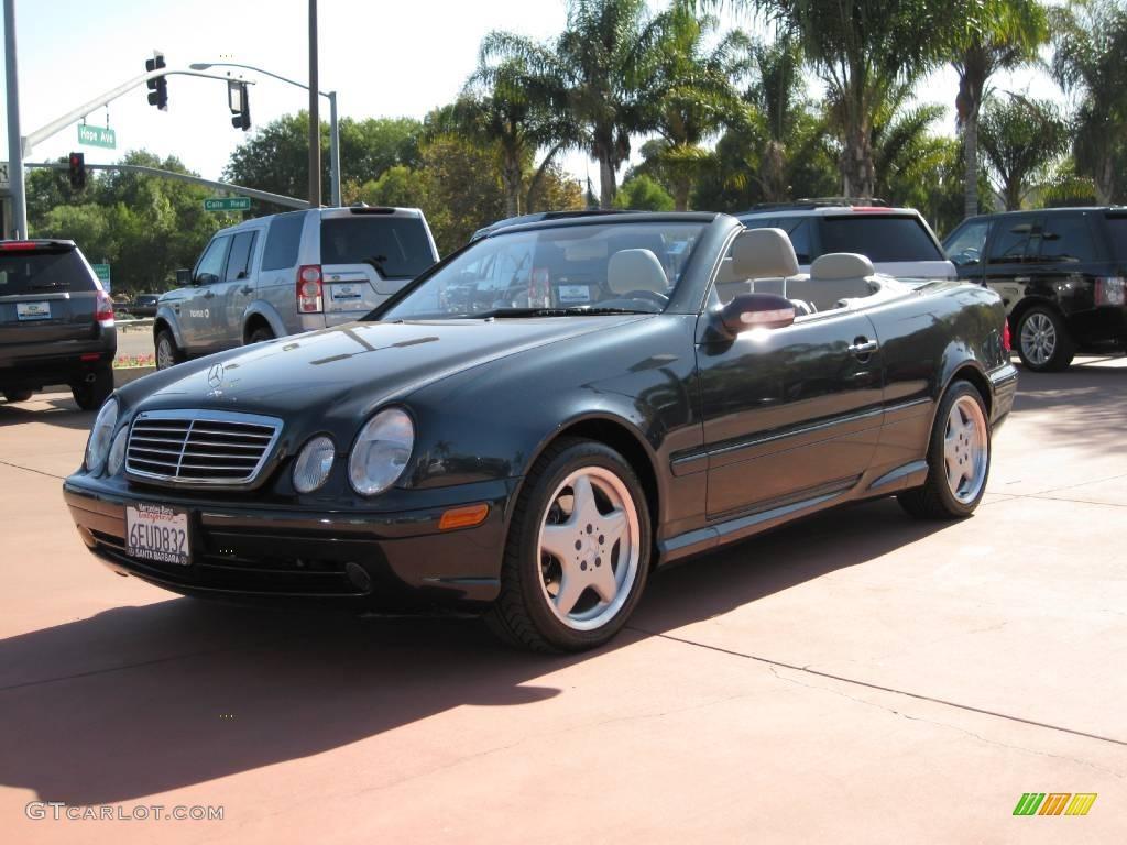 2001 Clk 430 Cabriolet Black Opal Metallic Ash Photo 1