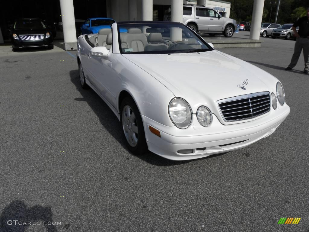 2000 glacier white mercedes benz clk 320 cabriolet 19276275 car color galleries. Black Bedroom Furniture Sets. Home Design Ideas