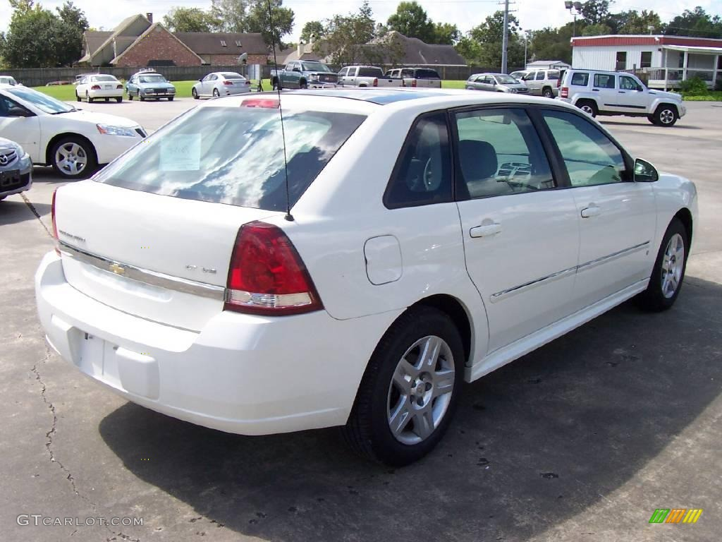 2006 white chevrolet malibu maxx lt wagon 19280242 photo. Black Bedroom Furniture Sets. Home Design Ideas