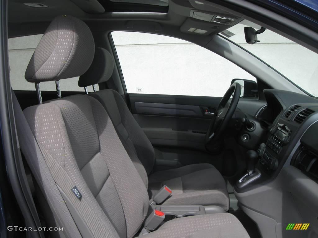 2008 CR-V EX 4WD - Royal Blue Pearl / Gray photo #6