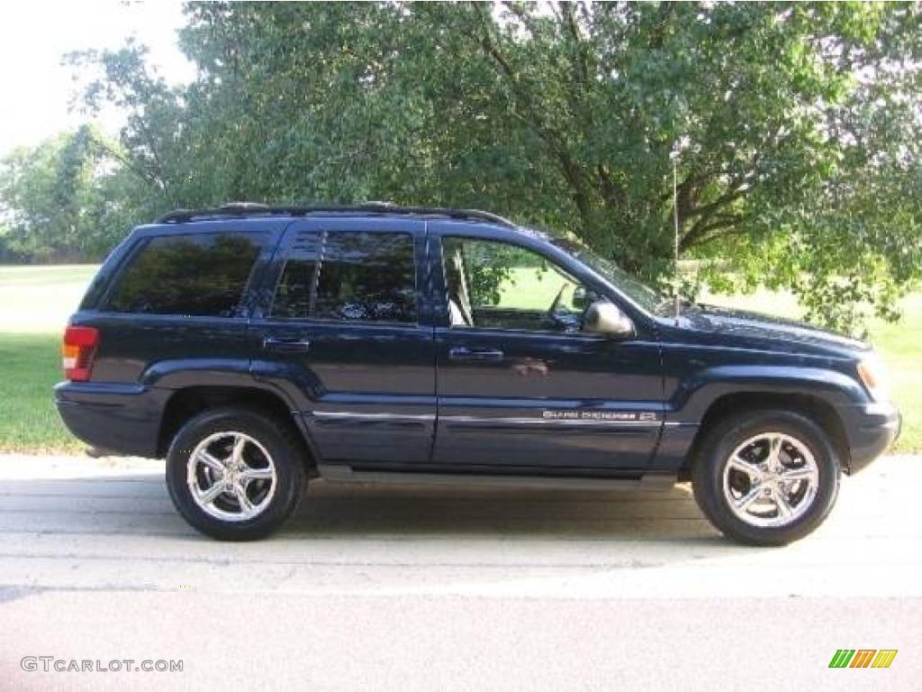 2004 Midnight Blue Pearl Jeep Grand Cherokee Overland 4x4 19281489 Gtcarlot Com Car Color Galleries