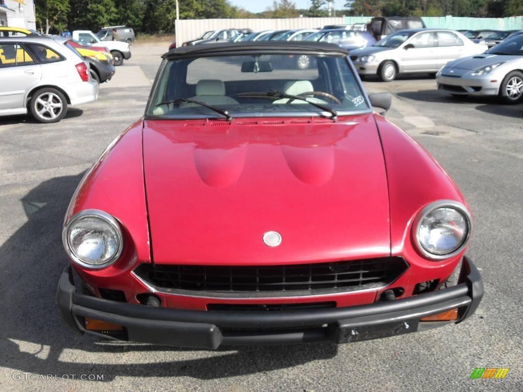 1968 red fiat 124 spider convertible 19273483 car color galleries. Black Bedroom Furniture Sets. Home Design Ideas