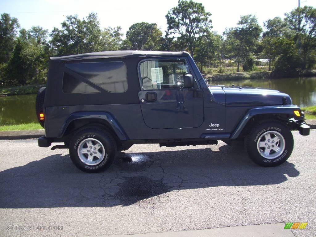 2006 midnight blue pearl jeep wrangler unlimited 4x4. Black Bedroom Furniture Sets. Home Design Ideas