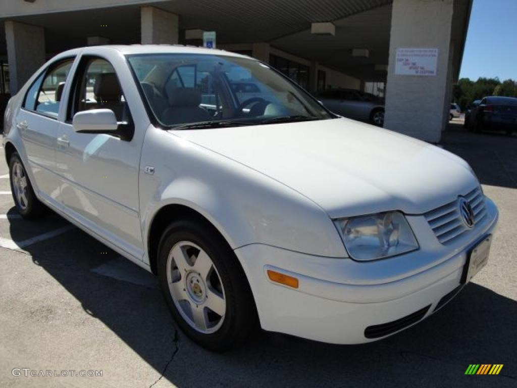 2001 cool white volkswagen jetta gls tdi sedan 19369345 car color galleries. Black Bedroom Furniture Sets. Home Design Ideas