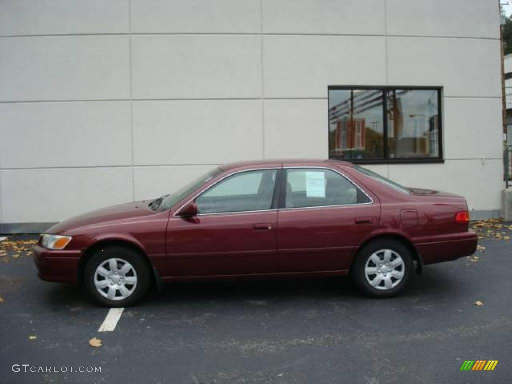 2001 vintage red pearl toyota camry le 19373425 photo 4 car color galleries. Black Bedroom Furniture Sets. Home Design Ideas