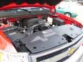 2009 Victory Red Chevrolet Silverado 1500 LT Extended Cab 4x4  photo #15