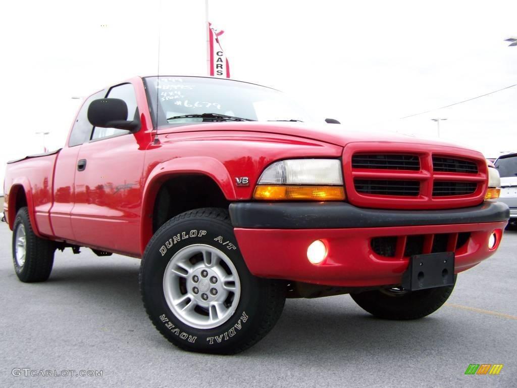 on 1999 Dodge Dakota Sport Black
