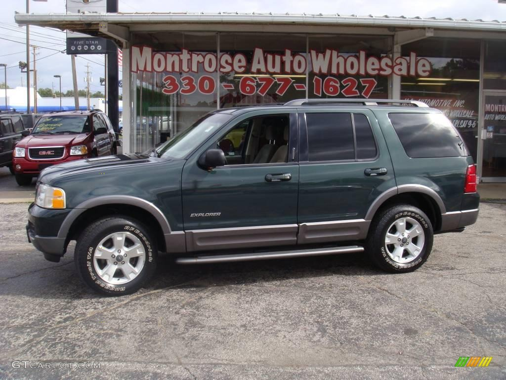 Dark highland green metallic ford explorer ford explorer xlt 4x4