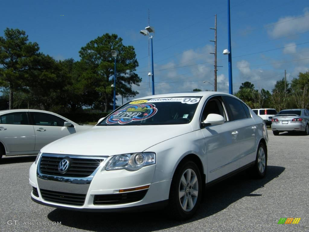 2006 candy white volkswagen passat 2 0t sedan 19360344 car color galleries. Black Bedroom Furniture Sets. Home Design Ideas