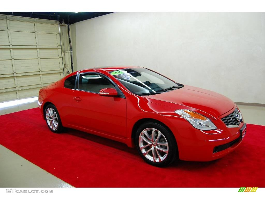 2009 code red metallic nissan altima 3 5 se coupe 19489433 car color galleries. Black Bedroom Furniture Sets. Home Design Ideas