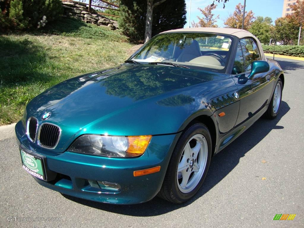 1997 Dark Green Bmw Z3 1 9 Roadster 19498018 Gtcarlot