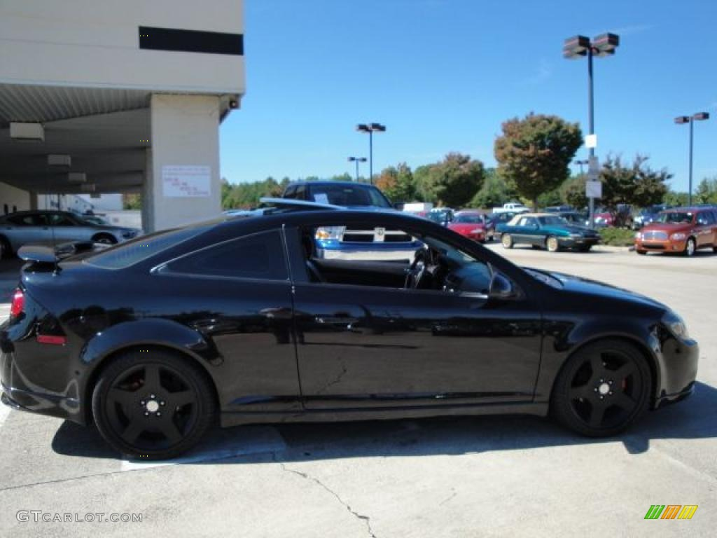 2007 Black Chevrolet Cobalt Ss Supercharged Coupe 19497223 Photo 2