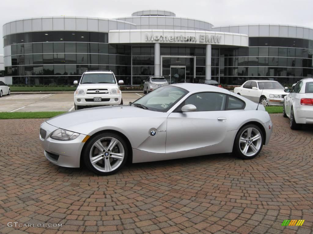 2008 Titanium Silver Metallic Bmw Z4 3 0si Coupe 19536958 Gtcarlot Com Car Color Galleries