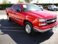 2006 Victory Red Chevrolet Silverado 1500 LT Extended Cab  photo #4