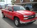 2006 Victory Red Chevrolet Silverado 1500 LT Extended Cab 4x4  photo #1