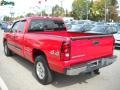 2006 Victory Red Chevrolet Silverado 1500 LT Extended Cab 4x4  photo #5