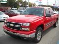 2006 Victory Red Chevrolet Silverado 1500 LT Extended Cab 4x4  photo #15