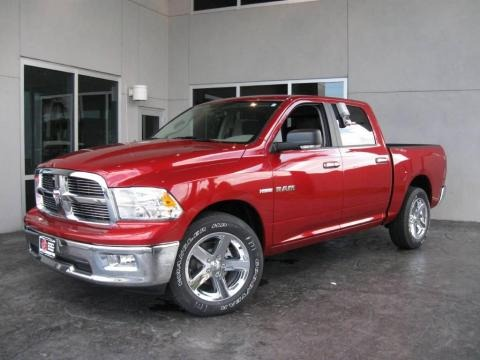 2010 Dodge Ram 1500 Big Horn Crew Cab Data, Info and Specs