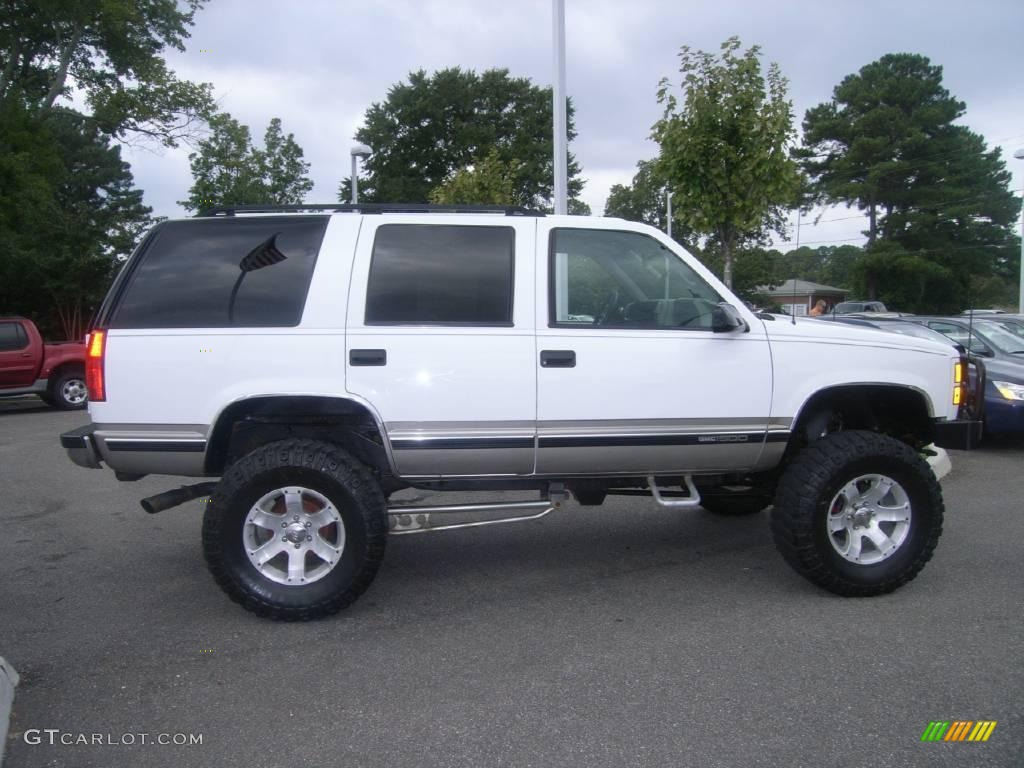 1998 olympic white gmc yukon slt 4x4 19537802 photo 8 gtcarlot com car color galleries gtcarlot com