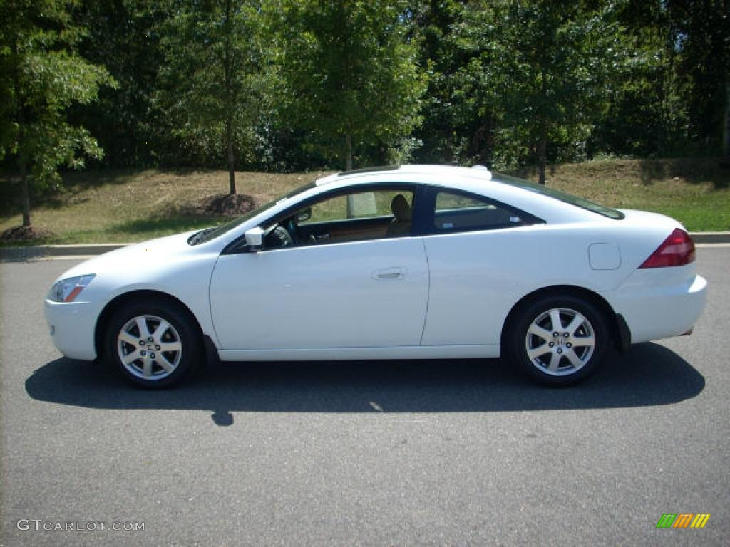 2005 Taffeta White Honda Accord Ex V6 Coupe 1927688 Photo
