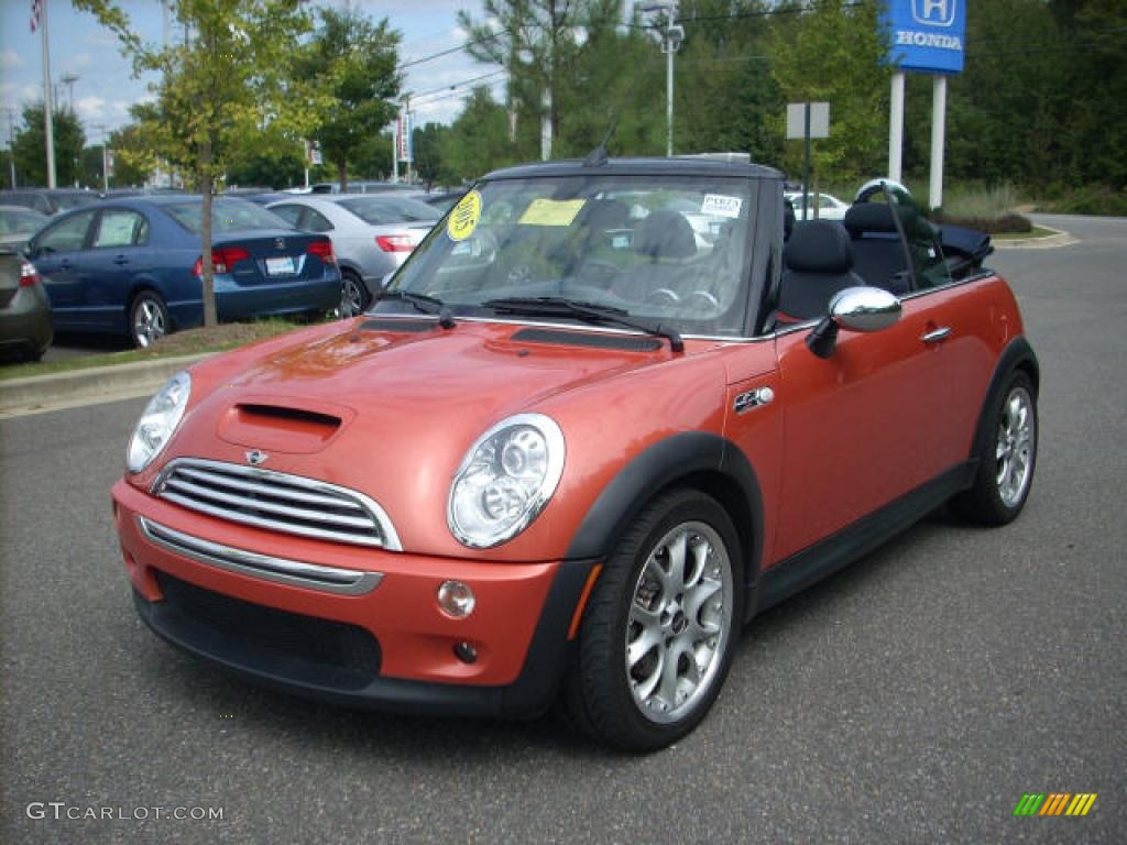 2005 hot orange metallic mini cooper s convertible 1927689 photo 7 car color. Black Bedroom Furniture Sets. Home Design Ideas