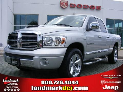 2007 Dodge Ram 1500 Laramie Quad Cab Data, Info and Specs