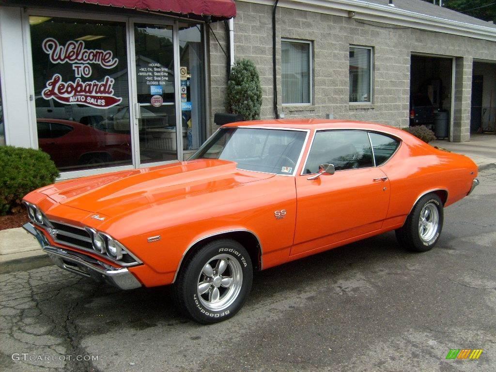1969 Orange Camaro For Sale Autos Post
